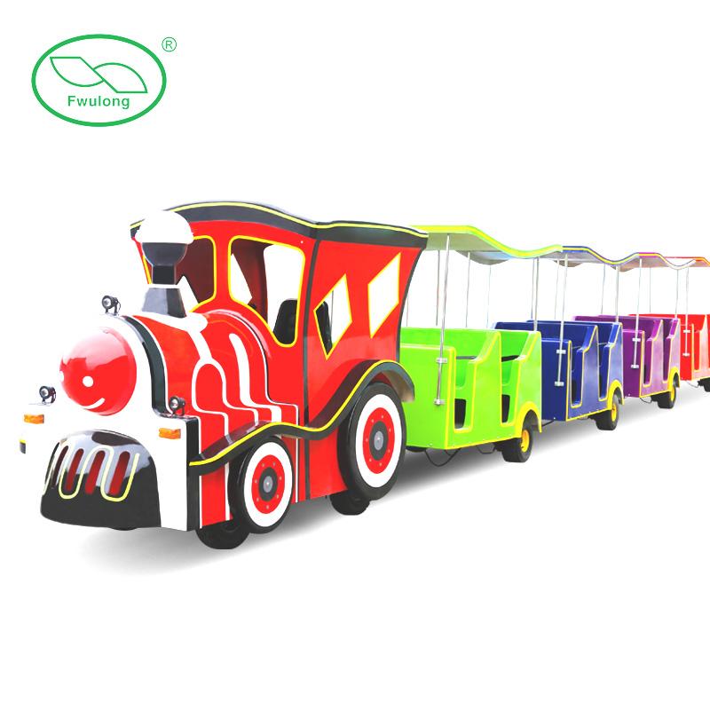 中型卡通游园火车
